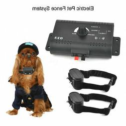 1-2 Dogs Underground Electric Dog Fence Containment System W