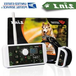 2-in-1 Wireless Dog Fence No-Wire Pet Containment System Rec