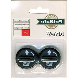 2 Pack Replacement Batteries Pet Dog Collars 6 Volt RFA-67 L