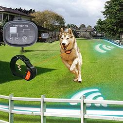 Dr.Tiger 2 Receiver Electric Dog Fence with Rechargeable Sho