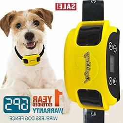 Containment System Transmitter Wireless Dog Fence Rechargeab