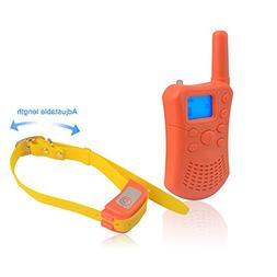 JUSTPET Dog Training Collar with 1200ft Range Remote, 100% W