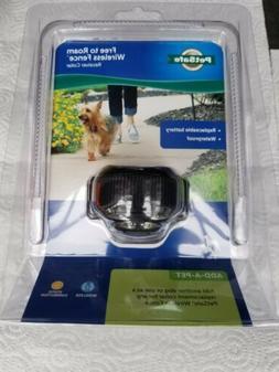 PetSafe Free To Roam Wireless Fence Receiver Collar, Black P