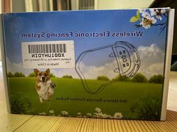 AngelaKerry GPS Wireless Electronic Pet Fencing System 800 m