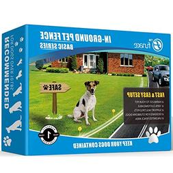 FunAce Hidden Dog Fence,Invisible in-Ground Wired Pet Cont