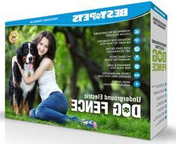 In Ground Electric Dog Fence 2 Wireless Shock Collar Waterpr