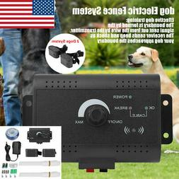In-ground Waterproof Shock Collar Electric Dog Pet Fence Sys