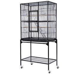 "63"" Inch Bird Parrot Chinchillas Ferret Cage Cockatiel House"