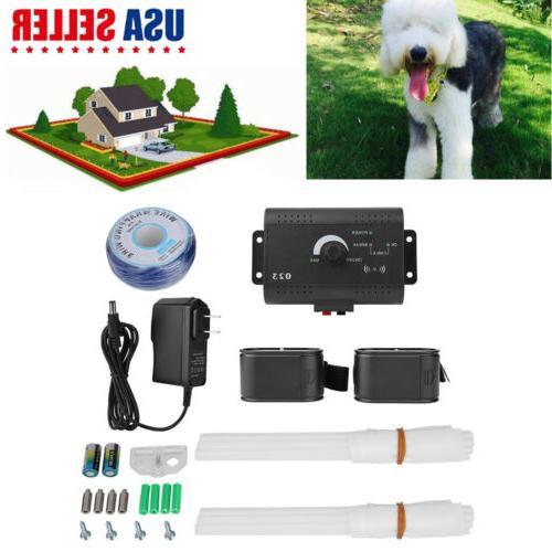 Underground Electric Dog Fence Training System Waterproof Sh