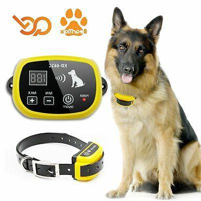 bearmax eletric wireless dog fence upgraded indoor