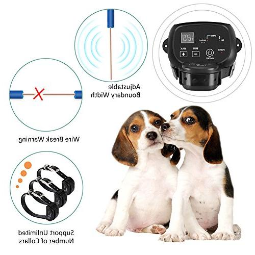 COVONO Invisible Fence Electric Dog Fence Ft Wire 1 Dog