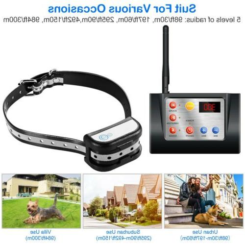 New Dog Pet Wireless System Fencing