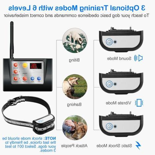 New Dog Wireless WIFI System Fencing Waterproof