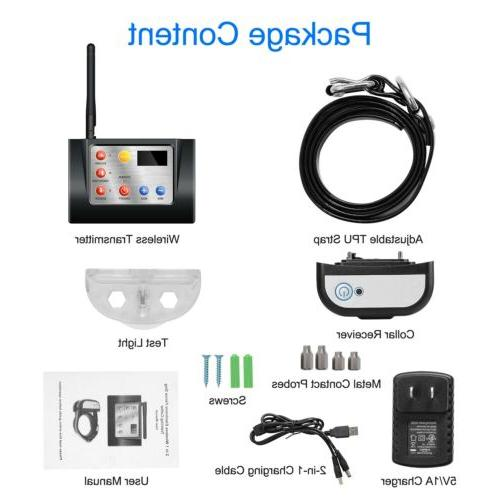 New Wireless WIFI Fence Containment System Waterproof