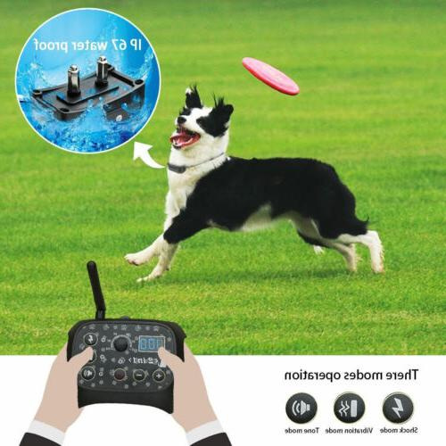 Outdoor 1/2 Training Collar Pet Electric Trainer System