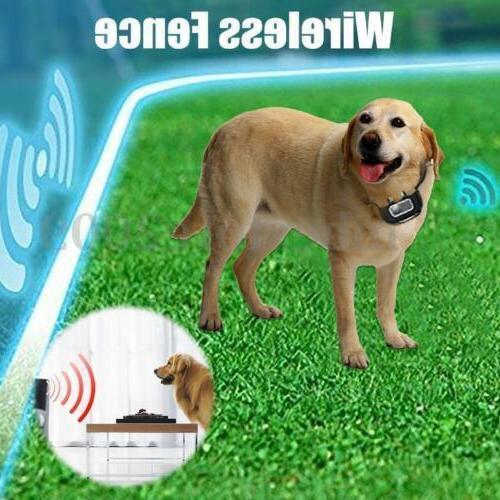 Outdoor Wireless Dog Training Shock Collar Pet Trainer