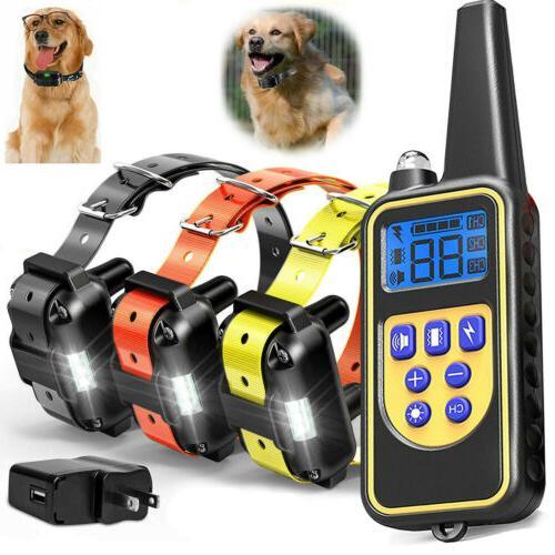 outdoor wireless 1 2 dog training shock