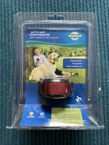stay play wireless receiver stubborn dog fence