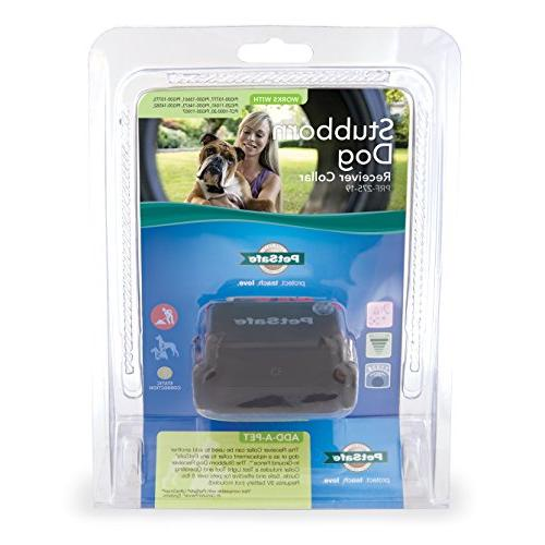 PetSafe Stubborn Collar, In-Ground Fence Waterproof, Vibration and Static Correction for dogs 8lb