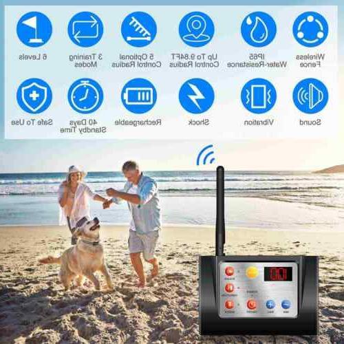 New Pet Wireless System Waterproof