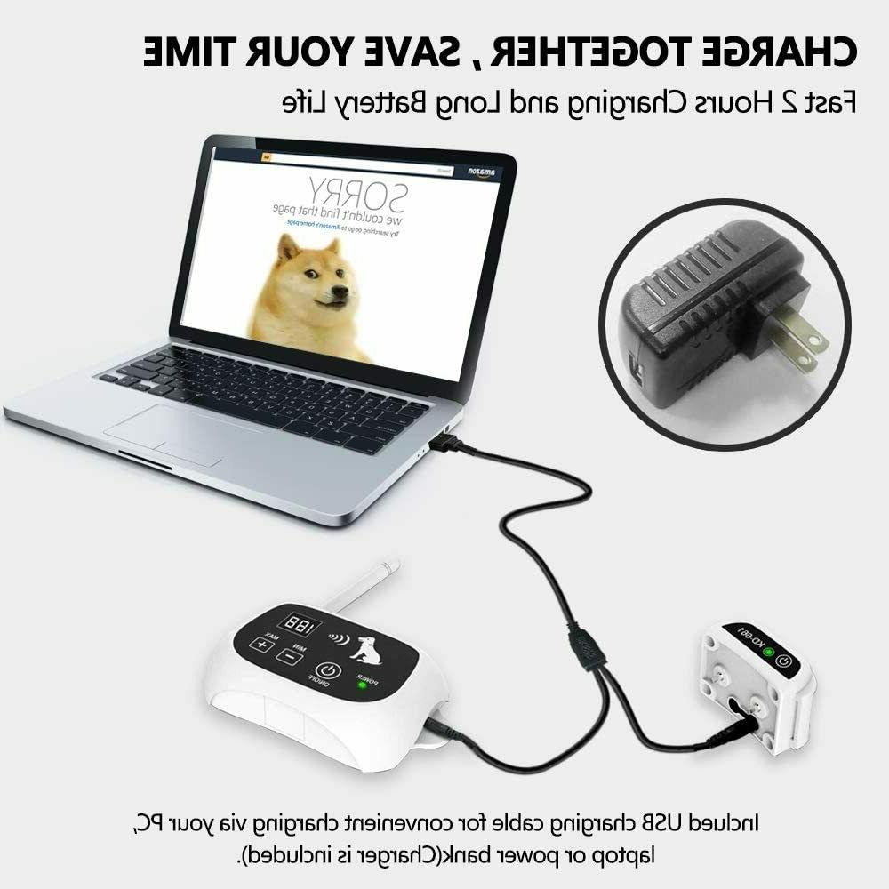 Wireless Fence Containment System Waterproof Collars