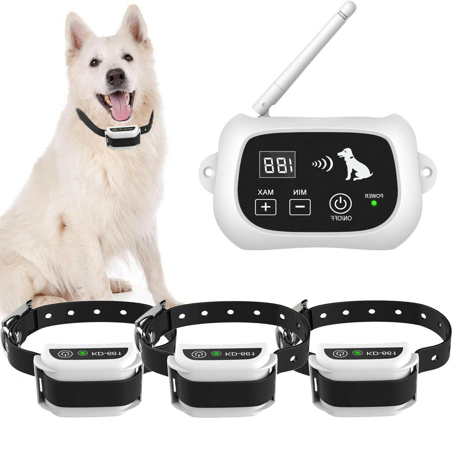 wireless dog fence pet containment system waterproof