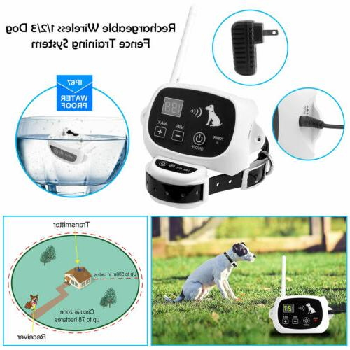 Wireless Electric Fence System