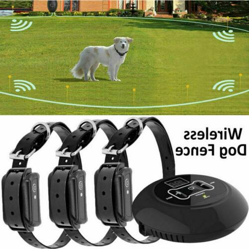 wireless electric dog fence dog containment system