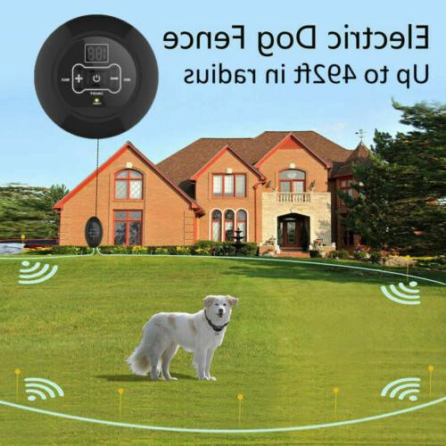 Wireless Electric Fence For System
