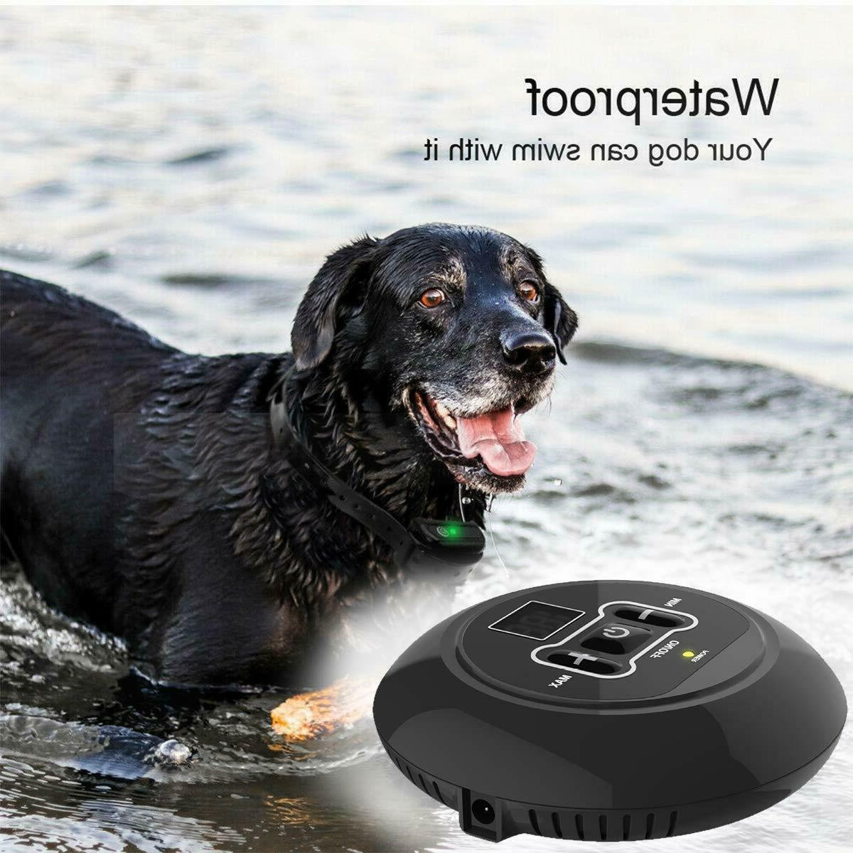 Wireless Pet Containment Shock Collars
