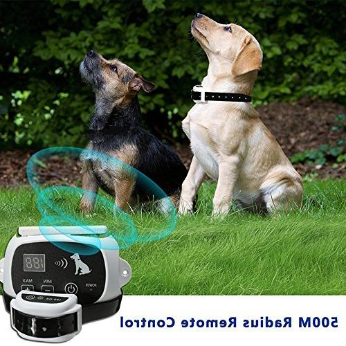 CarePetMost Fence Invisible System for Size Rechargeable Mode