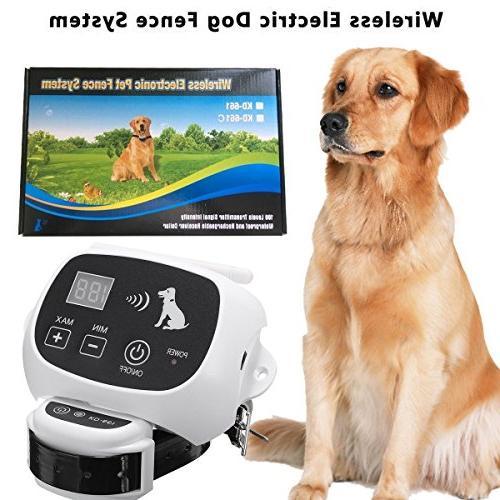 wireless electric dog fence system