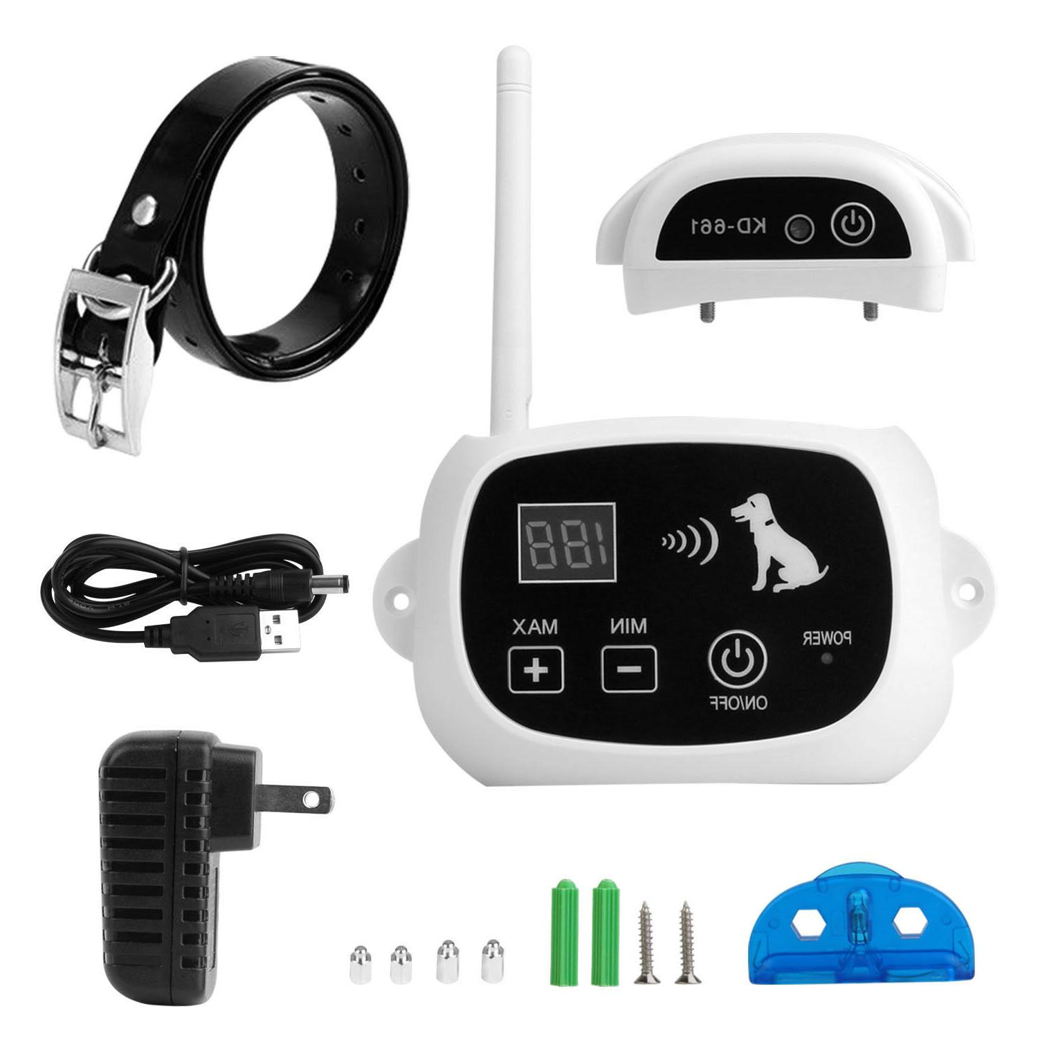 Wireless Electric Pet Fence Containment System Collar