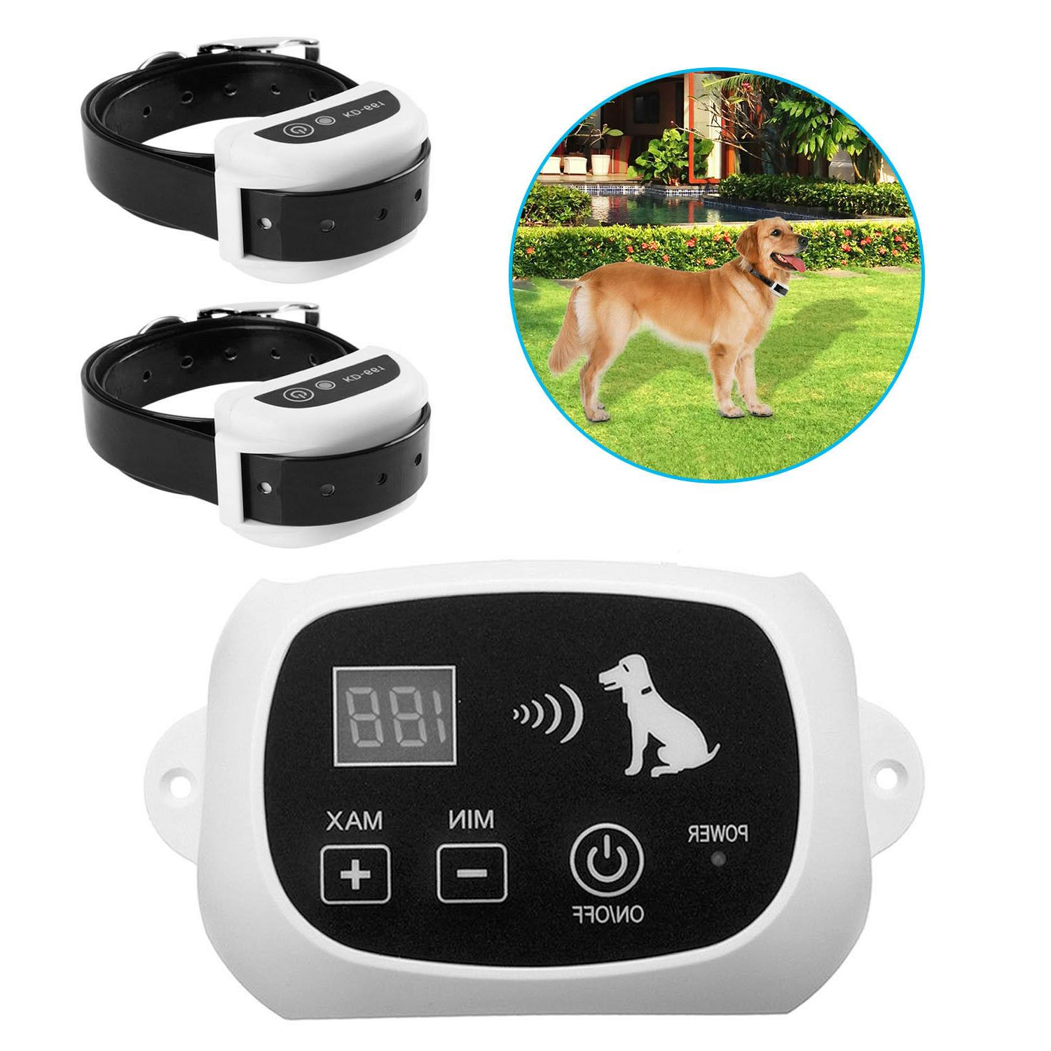 Wireless Electric Fence Containment Transmitter Collar