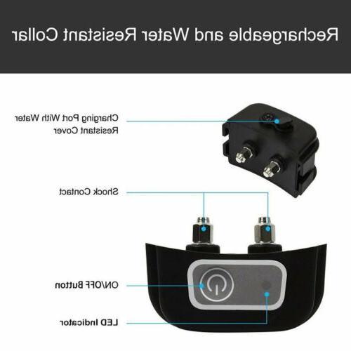 Wireless Electric 1-2-3 Dog Transmitter Collar BE