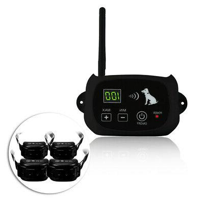 Wireless Waterproof Rechargeable Containment 1-4 Dog