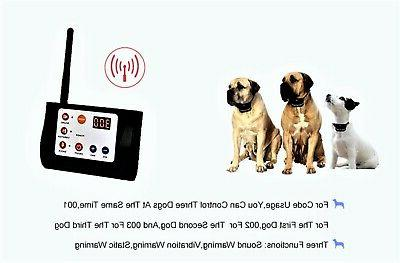 Wireless Two Dog Containment Electric & Shock Collar