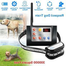 new dog pet electric wireless wifi fence
