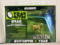NEW Friendly Pet Products Best Wireless Dog Fence W/Radio &I