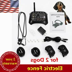 No-Wire 2 Dog Fence Wireless Pet Containment System Waterpro