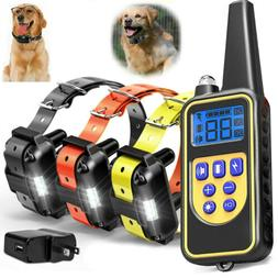 Outdoor Wireless Dog Training Shock Collar Pet Electric Trai