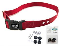 "PetSafe RFA 529 Accessory Kit & 3/4"" Strap with 2 Holes 1.25"