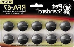 PetStandard Replacement Batteries for PetSafe RFA-67
