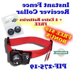 PetSafe PIF-275-19 Wireless Fence Dog Collar with 2 Free Bat