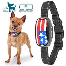 GoodBoy Small Rechargeable Dog Bark Collar for Tiny to Mediu