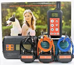Remote Dog Training Collar & In-ground Electronic Containmen