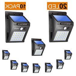 Outdoor Solar 20 Led Lights Lot Smart Motion Sensor Weatherp
