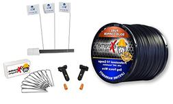 Dog Fence Wire Setup Kit - 1000 Feet of 14 Gauge Wire, 100 T