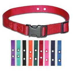 Petsafe Compatible Fence Nylon Dog Collars 5 Strap Value Pak