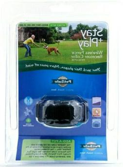 PetSafe Stay & Play Wireless Fence Receiver Collar Black PIF